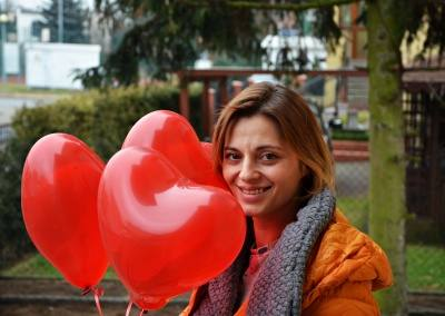 Balony z helem Walentynki Poznan plewiska skorzewo (9)