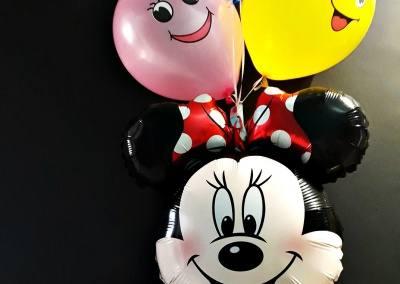 balony z helem na urodziny poznań plewiska myszka